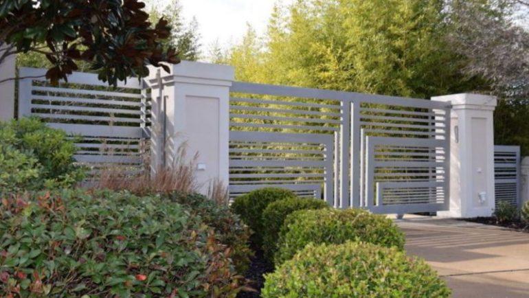 Metal Fence Gate Ideas