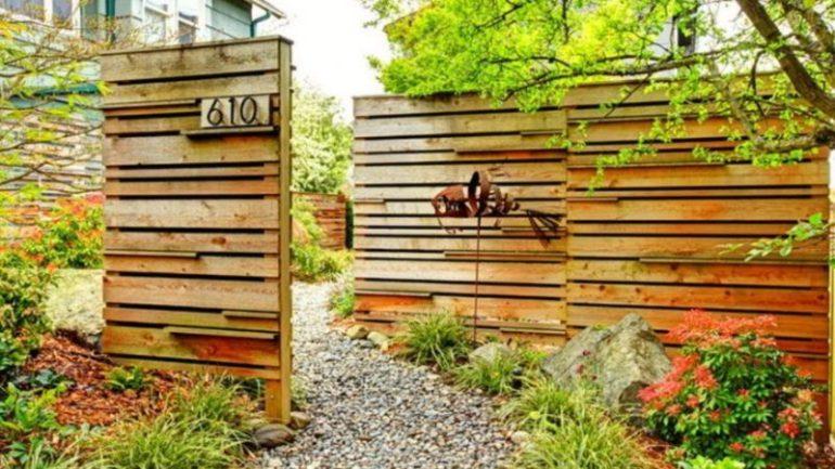 Wooden Gate Design Ideas