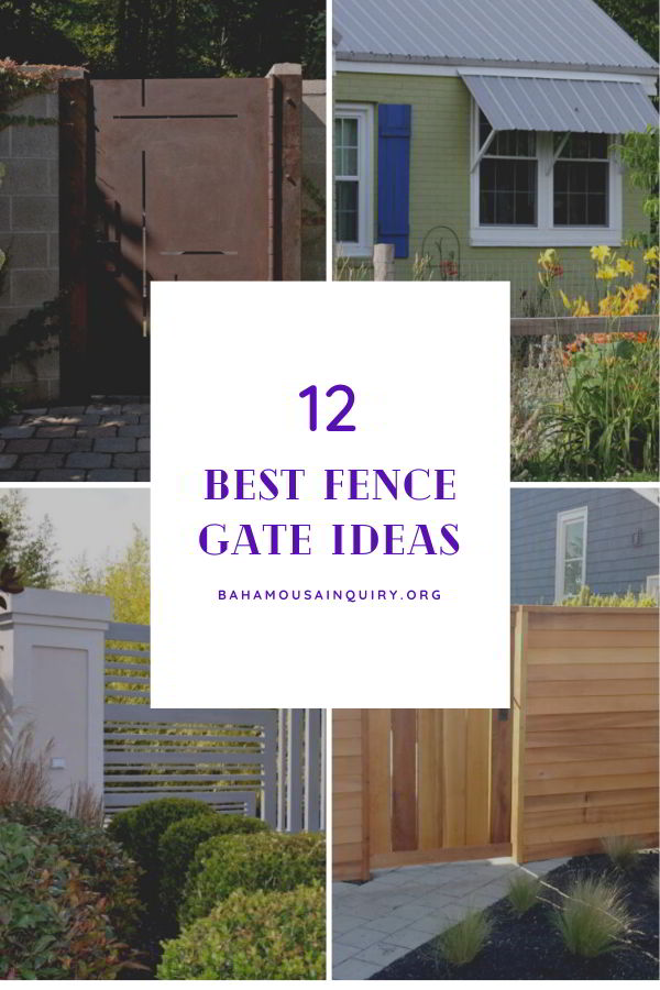 Best fence gate ideas