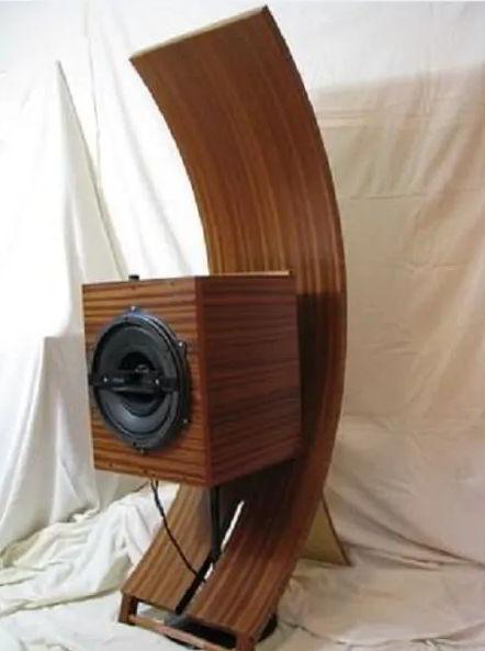 Wooden Speaker Stand