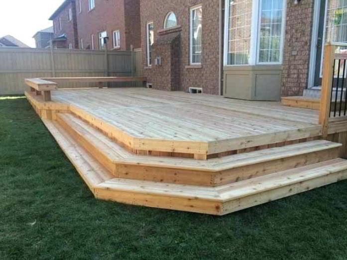 Best Box Deck Stairs