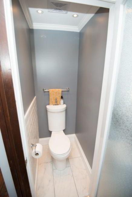 Minimalist Powder Room Design