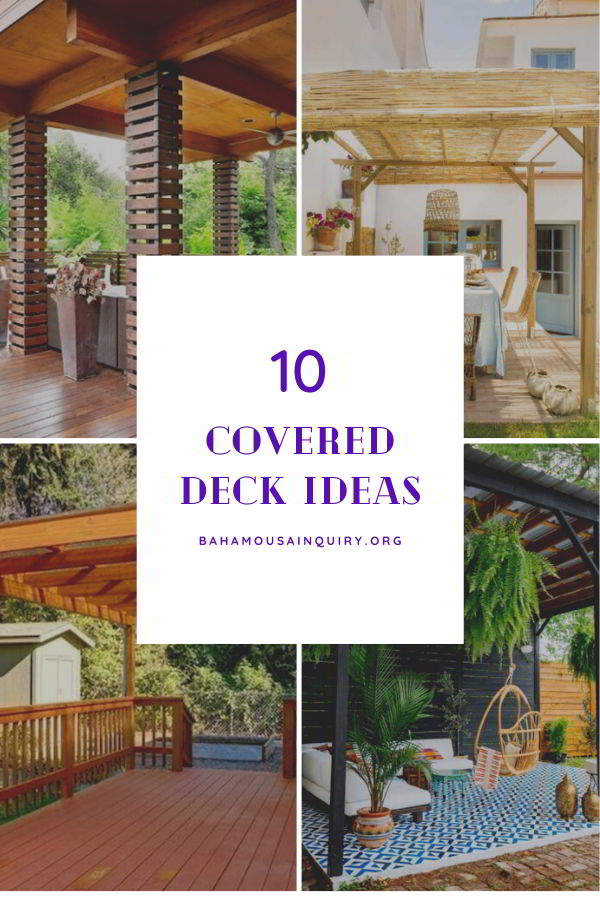 Best covered deck ideas