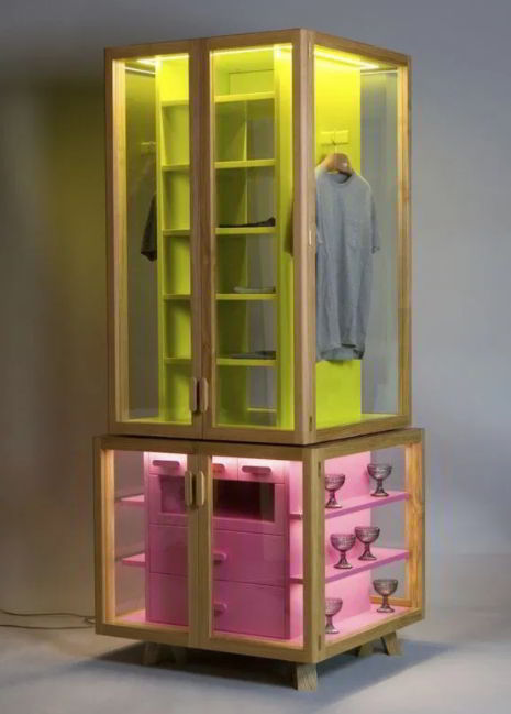 Cute Pastels Display Case