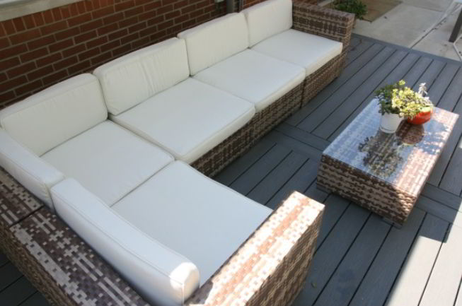 Sofa for deck furniture
