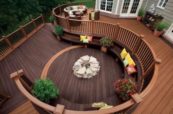 Woodland Deck Concept