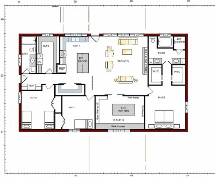 Elegant Barndominium Design