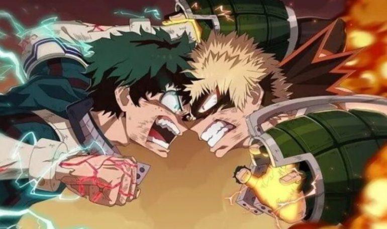 My Hero Academia Dubbed Anime