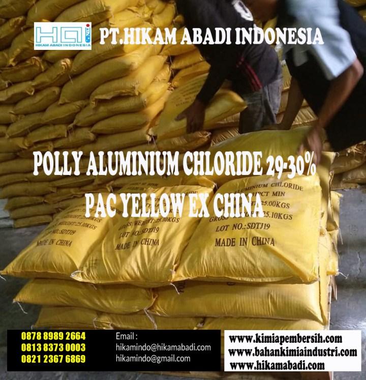Jual PAC Yellow EX China Area Bekasi dan Sekitar