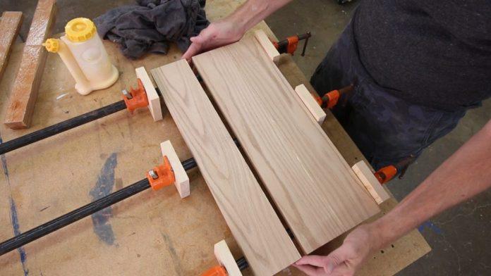membuat papan kayu