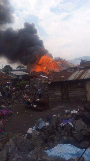 maisons brulées au quartier MABANGA SUD (3)