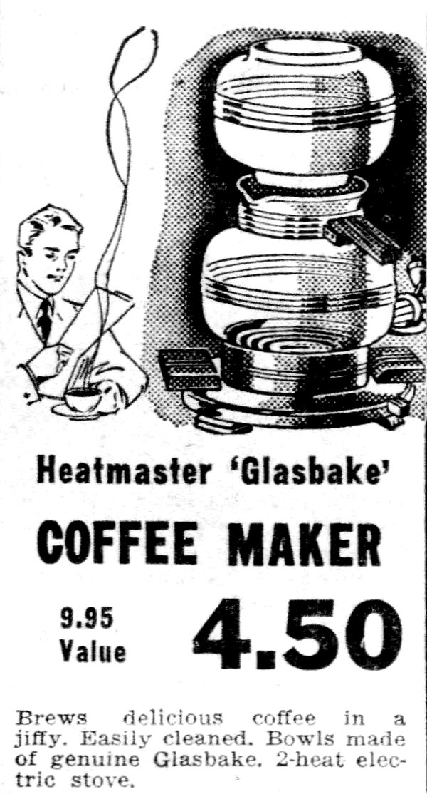 Vacuum Coffee Pots: Advertizing & Documentation