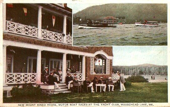 The Mt Kineo House At Moosehead Lake
