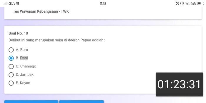 Soal TWK CPNS CAT BKN Online (10)