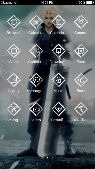 Tema Android Final Fantasy