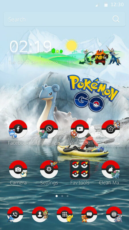 Tema Android Pokemon Go