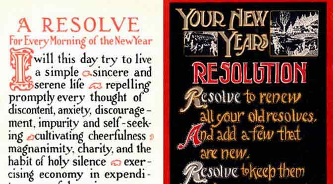 ¿Cuáles son tus resoluciones y metas para el año 2015?