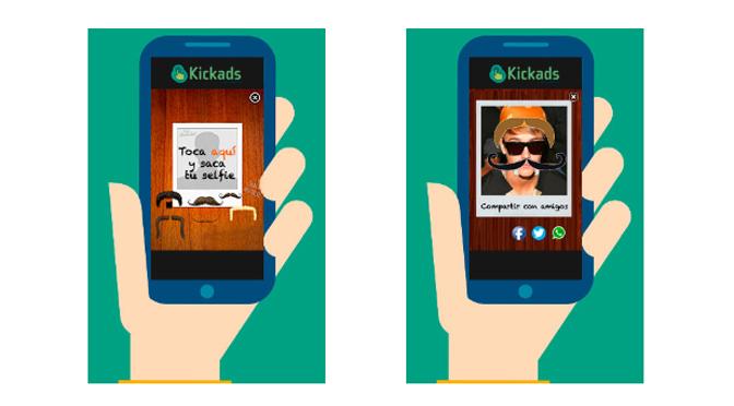 Kickads lanza un formato de publicidad para «selfies»