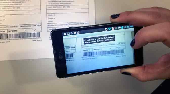 Ahora se pueden pagar servicios gracias a una foto del teléfono móvil