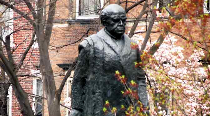 La estatua de Sarmiento en Boston