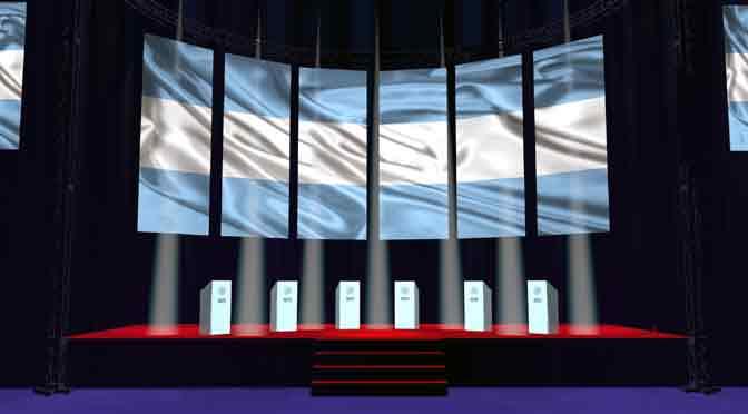 ¿Cómo se seguirá en Twitter el primer debate presidencial de la Argentina?