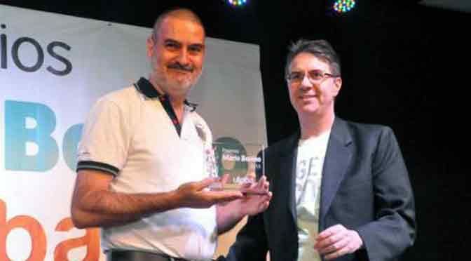 Premio Mario Bonino 2015 para un servidor