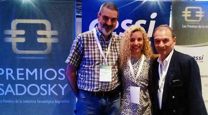 Los premios Sadosky, espacio de encuentro con amigos