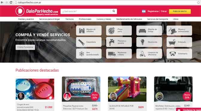 Dalo Por Hecho.com superó los $2 millones en transacciones