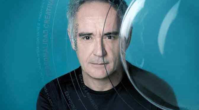 Ferran Adrià expondrá su proceso creativo en la Fundación Telefónica