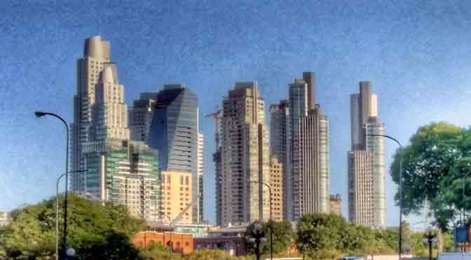 Paisajes de Buenos Aires desde un Alcatel One Touch Idol 3