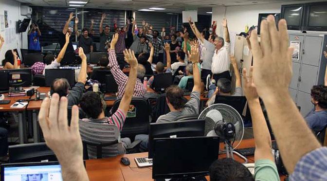 El periódico Tiempo Argentino busca un lugar para trabajar