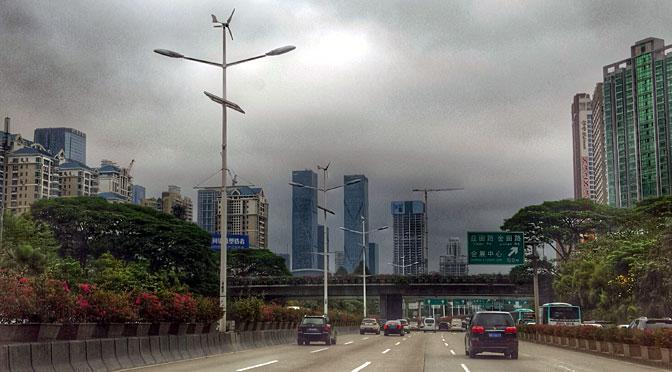 Las autopistas «verdes» de Shenzhen