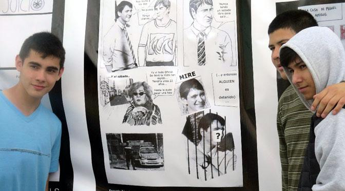 Proyecto Afiches: pensar el presente haciendo memoria
