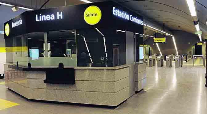 Nokia instala red para dar soporte a la línea H del subterráneo porteño