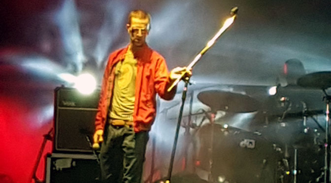 Space and time, por Richard Ashcroft en el Personal Fest 2016