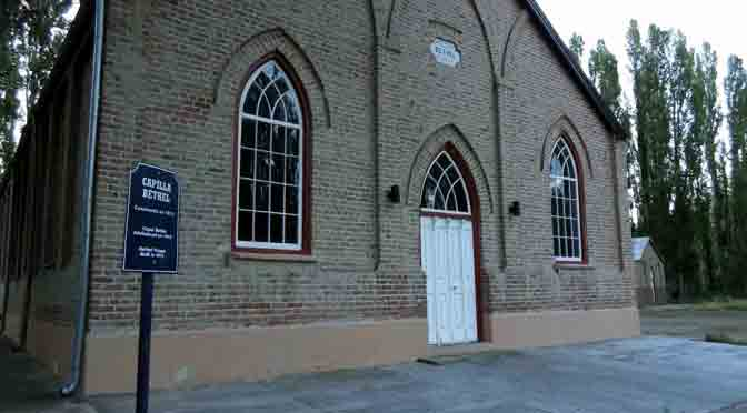 La capilla galesa Bethel Nueva en Gaiman, Chubut