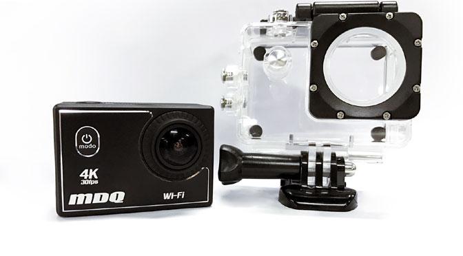 PCBox lanza la MDQ, una cámara deportiva que graba en resolución 4K