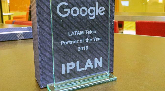 Google distingue a IPLAN como su socio del año en América latina
