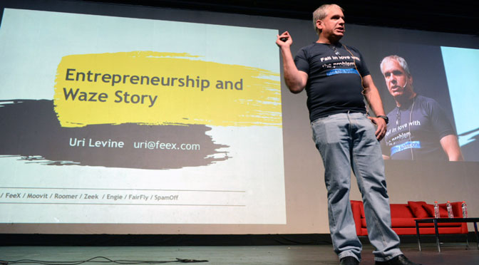 Uri Levine, creador de Waze: «Empezar una 'startup' es como enamorarse»