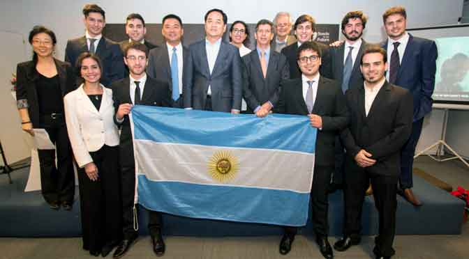 Estudiantes argentinos viajan a China por una beca de Huawei