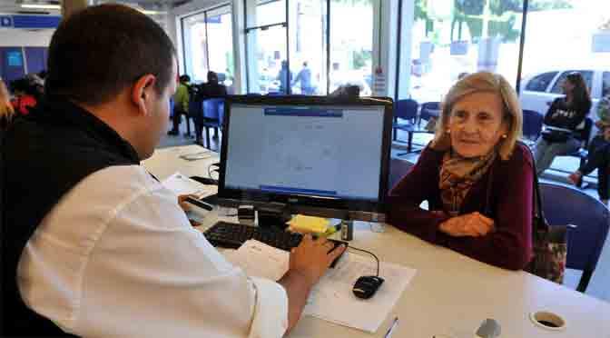 ¿Cómo pueden solicitar los jubilados el cambio de banco para el cobro de haberes?