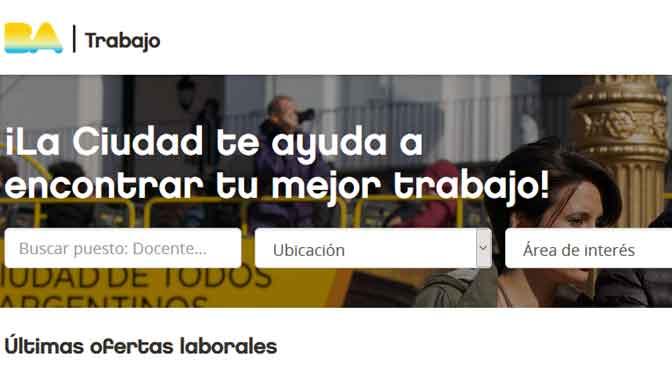 El Gobierno porteño renueva su portal de empleo