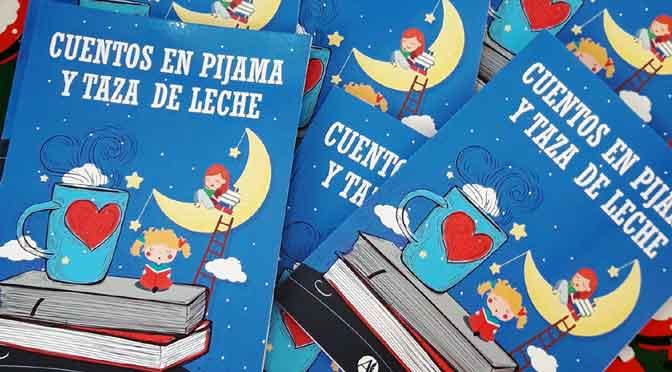 Los cuentos en pijama y taza de leche de Gabriela Fabrizio