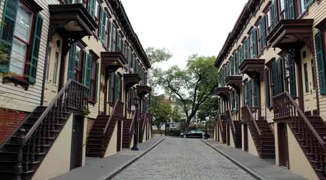 Sylvan Terrace, una gema escondida en New York
