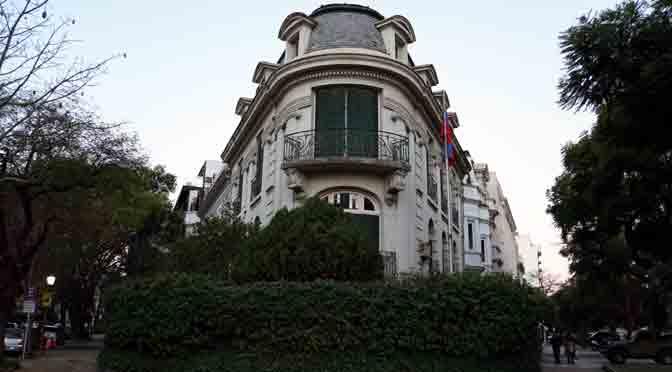 Mansiones y palacios en el Barrio Parque de Buenos Aires