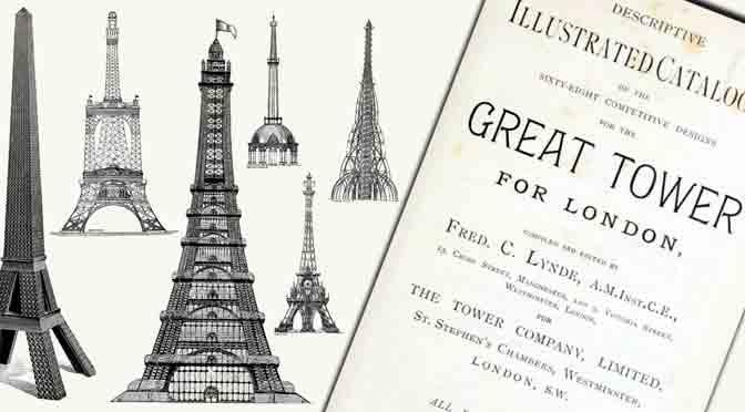La versión inglesa de la torre Eiffel que no se terminó de construir