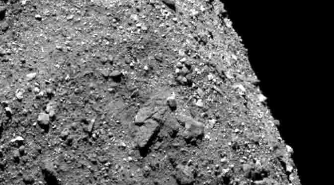 La NASA descubre señales de agua en un asteroide