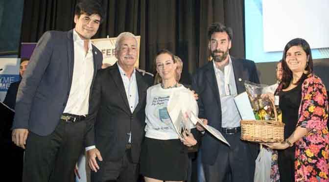 Jazmín Garbini ganó el premio al joven empresario bonaerense