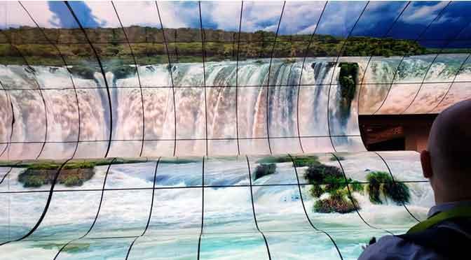 La increíble cascada de LG en el CES 2019