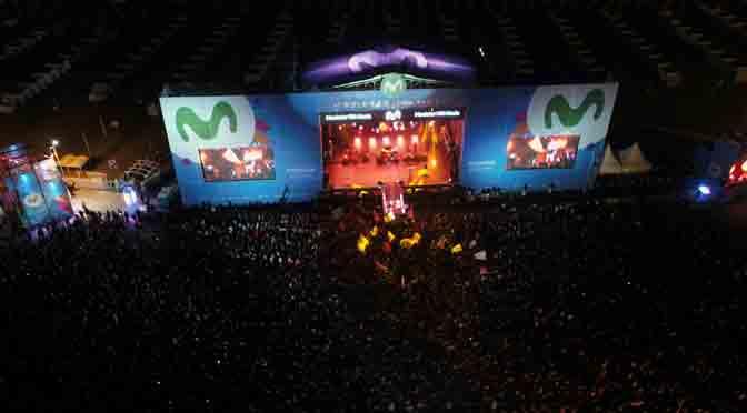 Movistar Fri Music reunió a unas 135.000 personas en Mar del Plata